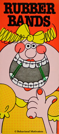 Orthodontic Pamphlet - Rubber Bands - front image