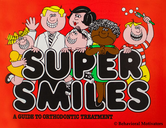 Orthodontic Informational 20 page book - Super Smiles - front image